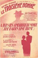 Partition Musicale ´Le Troisième Homme´ Du Film ´The Third Man´ (Musique Anton Karas). - Musique & Instruments