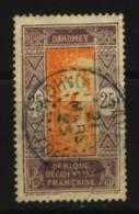 Dahomey    N° 63 Oblitéré   Cote Y&T  1,00  €uro  Au Quart De Cote