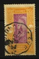 Dahomey    N° 73 Oblitéré   Cote Y&T  0,30  €uro  Au Quart De Cote