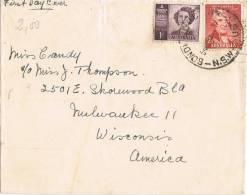 5931. Carta BOUNDAIN (Australia) 1947. Princess Elisabeth - 1937-52 George VI