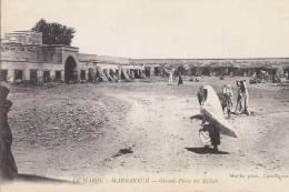 Maroc - Marrakech - Remparts Fortifications - Place Du Mellah - Marrakesh
