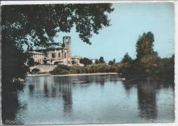 LANGEAC - Les Bords De L'Allier Et L'Eglise - Langeac