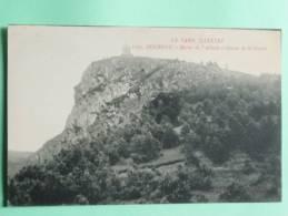 DOURGNE - Rocher De L'Abbade Et Statue De St STAPIN - Dourgne