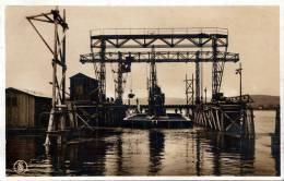 BELGRAD, Auf Der Flußsohle Stehender Caisson, Senkkasten Belgrad, Gelaufen 1930, 2 Fach Frankierung, Stempel Wernerwerk - Jugoslawien