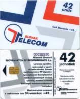 Telefonkarte Slowakei - Werbung - 4/94 - Slovak Telecom - Slowakei