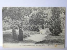 CPA 79 Deux Sèvres - COULONGES Sur L'AUTIZE - Le Jardin Public - Coulonges-sur-l'Autize
