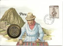 1985 Numisbrief Peru - Pérou