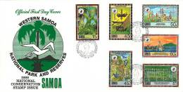 1988  National Conservation Issue  Unaddressed FDC - Samoa