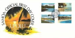 1987  Scenic Views Unaddressed FDC - Samoa