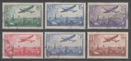 Poste Aérienne N° 8 à 13 Avec Oblitération Cachet à Date  TTB - 1927-1959 Gebraucht