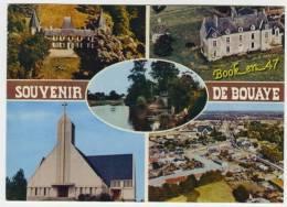 {36217} 44 Loire Atlantique Souvenir De Bouaye , Multivues ; Châteaux De Lanoë & De Senaigerie , Eglise , Achenau - Bouaye