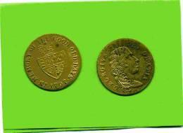 GEORGIUS III DEI GRATIA 1797 IN MEMORY OF THE GOOD OLD DAYS MEDAILLE EN BON ETAT - Royaume-Uni