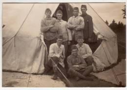 Kaart Militairen In VT Vermoedelijk Tussen 1e En 2e  Wereldoorlog - Personnages