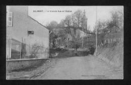 Belmont - La Grande Rue Et L'Eglise - Belmont De La Loire