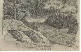 54 Meurthe Et Moselle Guerre Soldats Tombes Françaises.Envoi Gratuit. - Baccarat