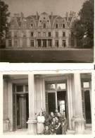 WW2 PHOTO ORIGINALE (non Annotée) SOLDAT ALLEMAND BOISSY SAINT LEGER Chateau Du Piple Près Créteil VAL DE MARNE 94 - 1939-45