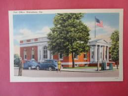 GA - Georgia > Statesboro  Post Office  Linen ------  Ref 686 - Unclassified