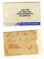 O)1992 MEXICO, BOUCLETT ,500 YEARS OF THE DISCOVERY OF AMERICA - Mexico