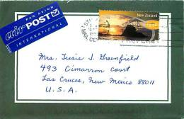 1999  $1.50  Wakatane  Single On Air Letter To USA - Covers & Documents