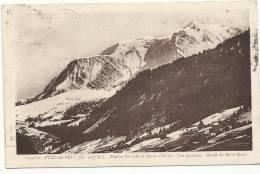 PRAZ-sur-ARLY - Station Estivale Et Sports D'Hiver - Vue Générale - Massif Du Mont Blanc - 1934 - Autres Communes