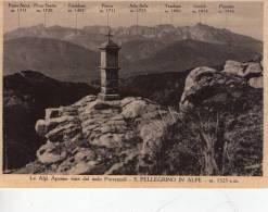 CASTIGLIONE  DI  GARFAGNANA  ,  Le  Alpi  Apuane  Da  SAN  PELLEGRINO  IN  ALPE - Lucca