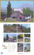 Japan 2010 Block Landscapes * * Kanto - Paintings - Blocks & Sheetlets