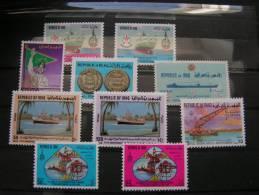 == Iraq , Schönes ** MNH Lot  Schiffe , Öl   889-892,1122-1123 - Irak