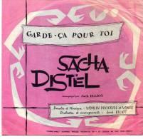 Disque Souple 45T - Sacha Distel - Garde ça Pour Toi - Disco, Pop