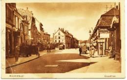 5929 - Bas Rhin - HAGUENAU - Grand´Rue  Caisse D´Epargne  En Face  1936 - Haguenau
