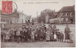 59 - MAING - L'ABREUVOIR ET RUE DE LA FABRIQUE - France