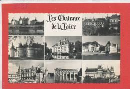 41 LES CHATEAUX DE LA LOIRE Cpsm Multivues      68 Valloire - France