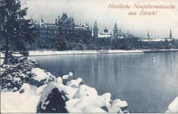 L491 - Herzliche Neujahrswünsche Aus Zürich! Familie Gölden - ZH Zurich