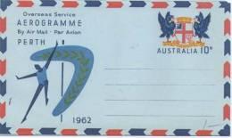 Australia 1962 10c Air Letter. Mint. - Aerogrammes