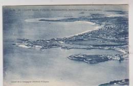 CPA DPT 35 VUE AERIENNE DE ST MALO, PARAME, ROCHEBONNE ET ROTHENEUF - Saint Malo