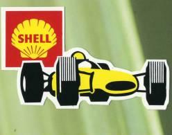 Autocollant Publicitaire - SHELL -    (2601) - Autocollants