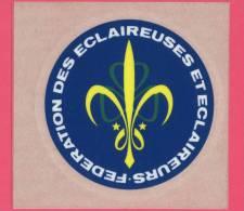 Autocollant Fédération Des Eclaireurs Et Eclaireuses - Scoutisme    (2603) - Scouting