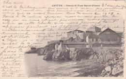 20842 Sete Cette CPA Stand Et Fort Saint Pierre  -cliché Mathieu Dauphin, - Sete (Cette)