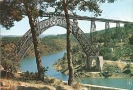 CPSM 1973  France Xx  . Viaduc De Garabit  Avec Cachet Du Viaduc. - Ponts