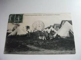 Campo Militare Camp De Chambarand Isere Les Marabouts Et La Musique Banda Musicale Militare Francia - Manovre