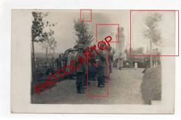 RETHEL-Carte Photo Allemande-Guerre-14-18-1WK-FRANCE-08-FRANKREICH-Militaire-Militaria- - Rethel