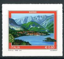 """ITALIA / ITALY 2012** - Turismo """"Baveno"""" - 1 Val. Autoadesivo Come Da Scansione - 6. 1946-.. Repubblica"""