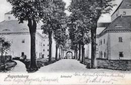 AUGUSTUSBURG, Schlosshof, Gelaufen 1906, Gute Erhaltung - Augustusburg