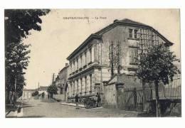CP  CHATEAU SALINS LA POSTE - ECRITE EN 1939 - Chateau Salins