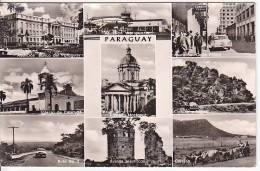 Paraguay Asuncion Vintage Original Real Photo Postcard Ca1950 Ak Cpa [WIN3_379] - Paraguay