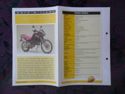 SCHEDA MOTO MITICHE TOP MOTO PER COLLEZIONISMO - KAWASAKI KLE 500 - - Motor Bikes