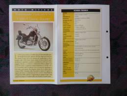 SCHEDA MOTO MITICHE TOP MOTO PER COLLEZIONISMO - KAWASAKI VULCAN VN 1500 CLASSIC TOURER - - Motor Bikes
