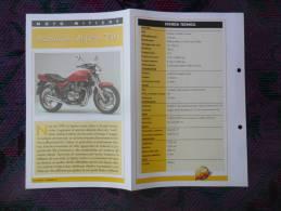 SCHEDA MOTO MITICHE TOP MOTO PER COLLEZIONISMO - KAWASAKI ZEPHYR 750 - - Motor Bikes