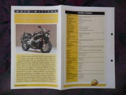 SCHEDA MOTO MITICHE TOP MOTO PER COLLEZIONISMO - HONDA CBR 900 RR - - Motor Bikes