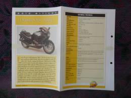 SCHEDA MOTO MITICHE TOP MOTO PER COLLEZIONISMO - HONDA CBR 1000 F - - Motor Bikes