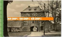 """""""Frauenstein/Erzgeb., Schloßaufgang"""" Um 1950/1960, Ansichtskarte  Ungebrauchte Karte - Frauenstein (Erzgeb.)"""